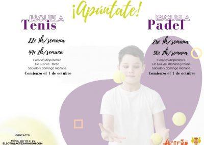 ESCUELA DE TENIS Y PADEL SOTO NIÑOS